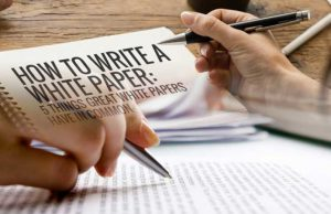 how to write a perfect whitepaper for ICO