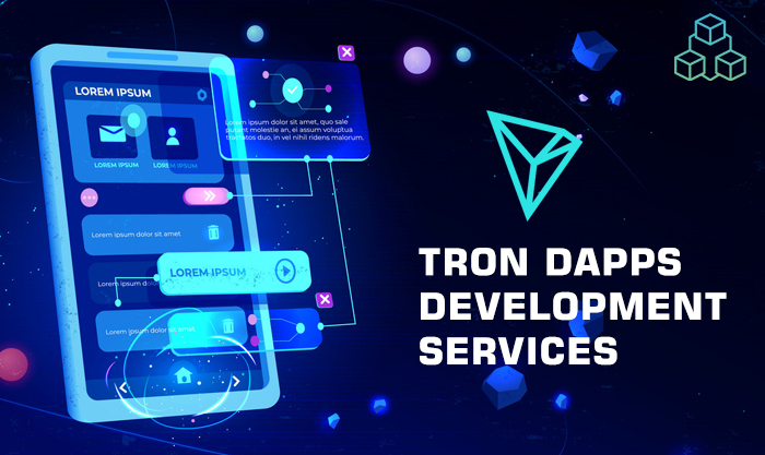 Tron DApp Development Services for your tron token development, tron wallet and api integration. We are expertise at integrating Tron Wallet for Start-ups and enterprises.